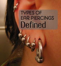 The human body can pretty much be pierced virtually anywhere that there is skin, and the ears are no exception to this rule.