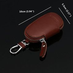 Big Capacity Key Bag Genuine Leather Solid Car Key Case For Men sales at a wholesale price. Come to Newchic to buy a wallet, more cheap wallets for man are provided online Mobile. Leather Key Holder, Leather Keyring, Leather Pouch, Tandy Leather, Car Key Holder, Leather Bag Pattern, Key Bag, Leather Workshop, Key Wallet