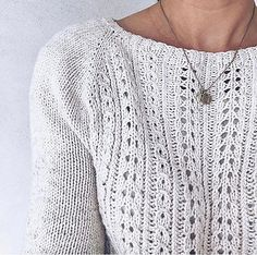 Ravelry: Stella my size pattern by Elisabeth Kvalvaag Lace Knitting Patterns, Knitting Stitches, Knitting Designs, Free Knitting, Knitting Projects, Pulls, Knit Crochet, Sweaters For Women, Couture