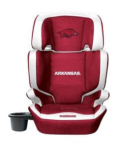 Arkansas Razorback High Back Booster Seat