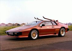 Lotus Esprit Turbo1981. Check out Facebook and Instagram: @metalroadstudio Very cool!