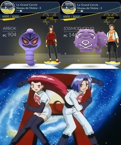 """[Humor] Tired of Dragonites-only gyms GF and I thought """"Prepare for trouble and make it double; we're gonna be Team Rocket!"""""""