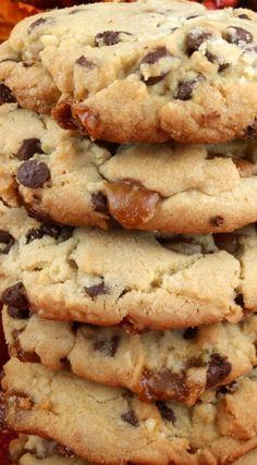 Caramel Chocolate Chip Cookies Recipe                                                                                                                                                                                 More