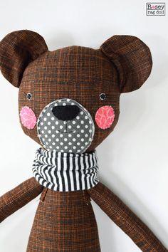 bear rag doll: Berkeley rosey rag doll modern free от roseyragdoll