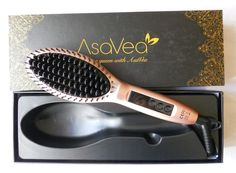 Spazzola Lisciante per Capelli AsaVea #hairstyling #hairstrightener #beauty