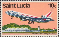 St Lucia 1980 Transport SG 538 Aircraft Fine Mint SG 538 Scott 505 Condition Fine MNH Only one post charge applied on multipule purchases Details N B
