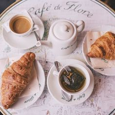 Café de Flore for breakfast