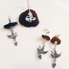 Sea Glass Jewelry set  Beach Glass Jewelry by GulfCoastTreasure