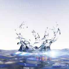 Works with water splashes for packshot illustrations. Water Shape, Underwater Painting, Water Images, Water Logo, Water Art, Drawing Reference Poses, Splish Splash, Watercolor Drawing, Eye Art