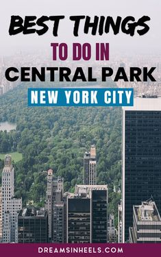 As a New Yorker, I know that it can be overwhelming for first time visitors. Here are some top recommendations with the best things to do in Central Park New York City. New York City Vacation, Visit New York City, New York City Travel, Canada Travel, Travel Usa, Nyc Itinerary, New York Travel Guide, Central Park Nyc, New York Architecture
