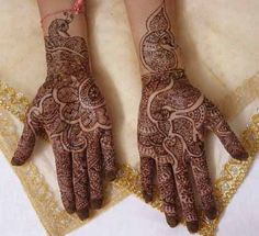 Mehndi is the application of henna as a temporary form of skin decoration, originated in India. It is most popular in South Asia, the Middle East, North Africa and Somaliland as well as expatriate communities from these areas.