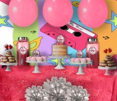 Mesa cumpleaños musical