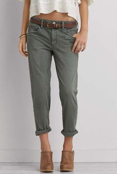 6fe511aa1120 AEO Twill X Tomgirl Pant - Buy One Get One 50% Off Twill Pants