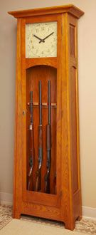 Heritage Gun Cabinet Plan & Components