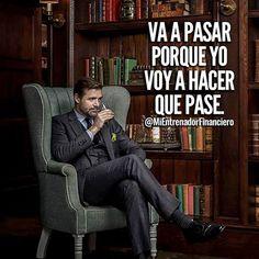 """""""Solo una persona puede impedirte conquistar el éxito y te mira todos los días desde el espejo"""". #libertad #sueños #Bitcoin"""