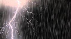 Rain and Thunder 8 hours / Work, Sleep, Study Meditation Videos, Relaxation Meditation, Relaxing Gif, Relaxing Music, Storm Sounds, Rain And Thunder, Nature Music, Sleep Studies, Learn Photoshop