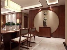 保利拉菲公馆3室2厅2卫136㎡新中式效果图_设计作品_搜狐焦点家居_设计效果图_家庭装修设计