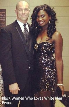 Gorgeous interracial couple dressed to the nines #love #wmbw #bwwm #favorite