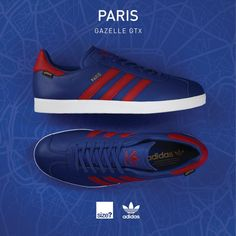 Size? x adidas Originals 'Paris' Gazelle GTX - EU Kicks: Sneaker Magazine
