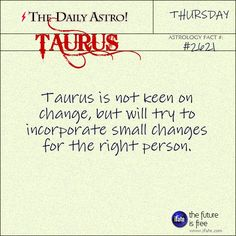 Daily Taurus Astrology Fact: When was the last time you had a tarot reading?   Get an awesome free tarot reading on iFate.com right now!