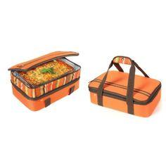 Amazon.com: Rachael Ray Expandable Lasagna Lugger, Orange: Home & Kitchen