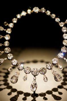 Napoleon+Diamond+Necklace