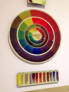 Glass color wheel. ❤️