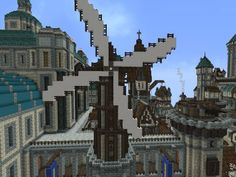 Forgeheart - a MASSIVE Steampunk City under Construction (UPDATE PAGE 1 MEGA PICTURE HEAVY) - Screenshots - Show Your Creation - Minecraft Forum - Minecraft Forum