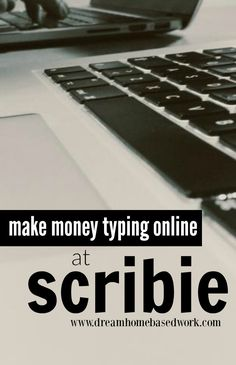 If you want to earn some extra cash working from home, Scribie is a great site that offers general audio file typing jobs you can do at your convenience from the comfort of your home