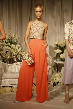 Alice + Olivia RTW Spring 2015 - Slideshow - Runway, Fashion Week, Fashion Shows, Reviews and Fashion Images - WWD.com