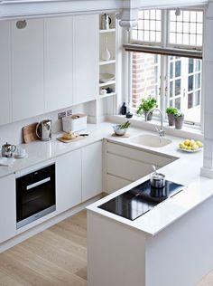 HOME DZINE Kitchen | Maximise a small kitchen
