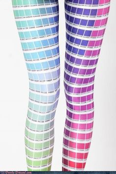 Pantone tights