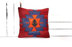 kilim pillow, decorative pillow, turkish pillow, kilim pillow cover, throw pillow, bohemian pillow, kilim pillows, pillow cover, rug pillow