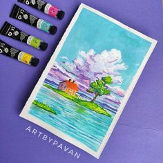 St G, Insta Posts, Watercolor Art, Colour, Artist, Painting, Instagram, Colourful Art, Color