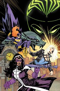 Batgirl and the Birds of Prey (2016) Issue #1