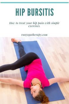 Hip Bursitis Exercises, Hip Mobility Exercises, Hip Strengthening Exercises, Bursitis Hip, Physical Therapy Exercises, Arthritis Exercises, Back Exercises, Hip Arthritis, Hip Stretches
