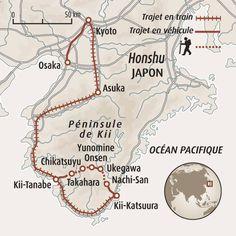 Circuit carte Japon : Randonnée au cœur du Japon ancestral - 12j - 1700€