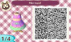 The Odd Girl Diaries: Animal Crossing New Leaf Dress QR Codes