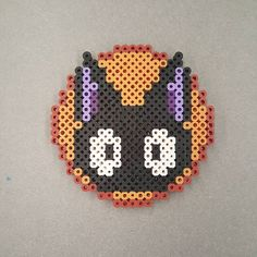 Jiji coaster - Kiki's Delivery Service perler beads by dimamiart