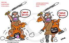 namo cartoon,modi cartoon,funny political cartoon,mysay.in,bjp funny ...