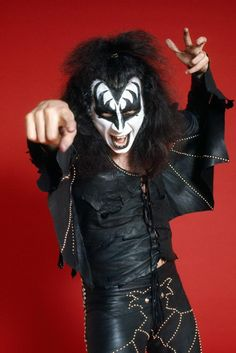 Gene Simmons (1974 Photo session for Kiss tour)@dmvc