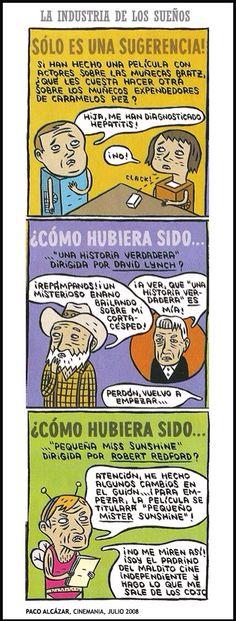Paco Alcázar - La industria de los sueños.