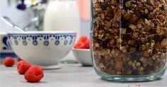 Lag din egen smakfulle og energirike granola. Sunt, enkelt og veldig godt!