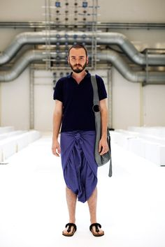 Since We Were Talking About Men in Skirts… « The Sartorialist