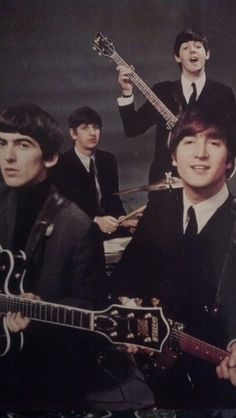 Beatles from ps we love you 1962-3 magazine