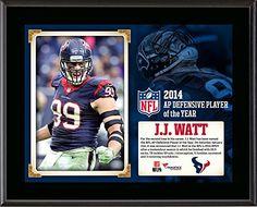 J.J. Watt Houston Texans Plaques