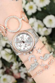 2 Yıl Garantili Metal Kordonlu Ferrucci Marka Bayan Saat Kombini Gümüş Daha fazla bijuteri 189,90 TL Michael Kors Watch, Bracelet Watch, Watches, Bracelets, Accessories, Fashion, Moda, Wristwatches, Fashion Styles