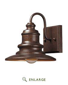 Elk Lighting 47010/1 Marina 1 Light Outdoor Sconce In Hazelnut Bronze (Shipping Included)
