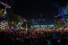 New Year 2015 at Central World, Bangkok, Thailand :) <3