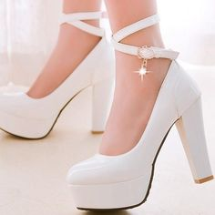 Buy high quality china wholesale computers, cell phones, wedding dresses and other products from reliable chinese wholesalers on Dhgate Cute Shoes Heels, Fancy Shoes, White Shoes, Me Too Shoes, Casual Shoes, Fashion Heels, Fashion Boots, Kawaii Shoes, Girls Heels